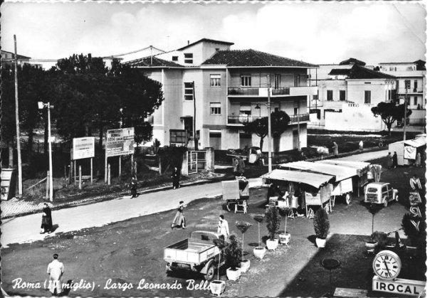 Cartoline dagli anni 50 largo leonardo bello quarto miglio for Priolo arredamenti roma