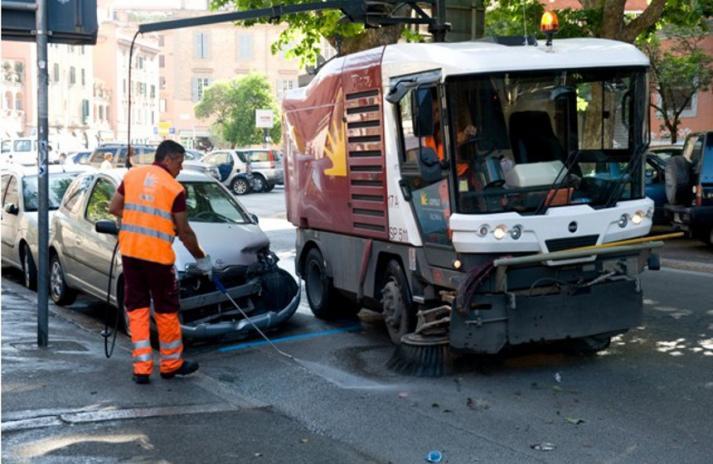 Al via il ciclo di interventi straordinari mensili di pulizia sulle grandi arterie stradali