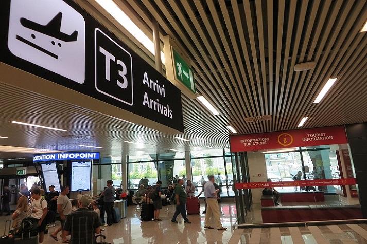 Aperto nell'aeroporto di Fiumicino il nuovo punto di informazioni ai viaggiatori dall'Italia e dal mondo