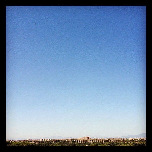 La vista da qui | ph @bastet #quartomiglio #IVmiglio #Roma