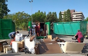 """Raccolte 240 tonnellate di materiali ingombranti nell'appuntamento di settembre de """"Il Tuo quartiere non è una discarica"""""""