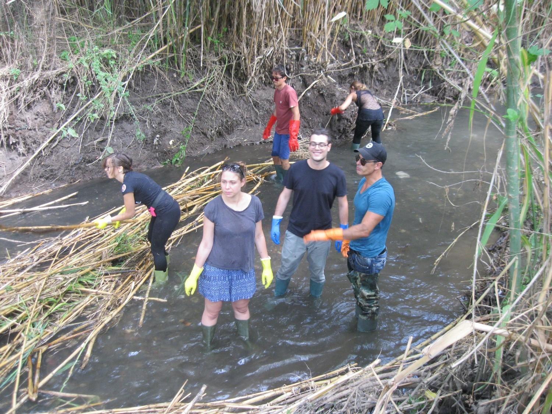 Appello per la manutenzione costante e il controllo contro l'inquinamento del fiume Almone