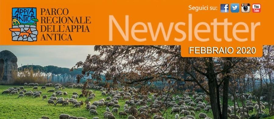 Appuntamenti, novità e approfondimenti settimanali dal Parco Regionale dell'Appia Antica - 12 febbraio 2020