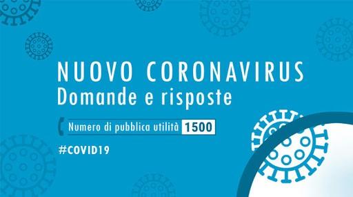 Nuovo coronavirus - Ministero della Salute
