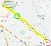 Ciclabile Tuscolana: nuova tratta fra Porta Furba e Santa Maria Ausiliatrice