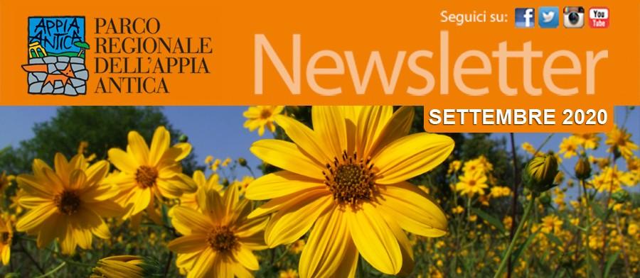 La newsletter del Parco 16/09/2020