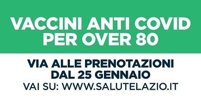 #Coronavirus: Unità Crisi Lazio, 'Over 80 si parte il 1° febbraio'