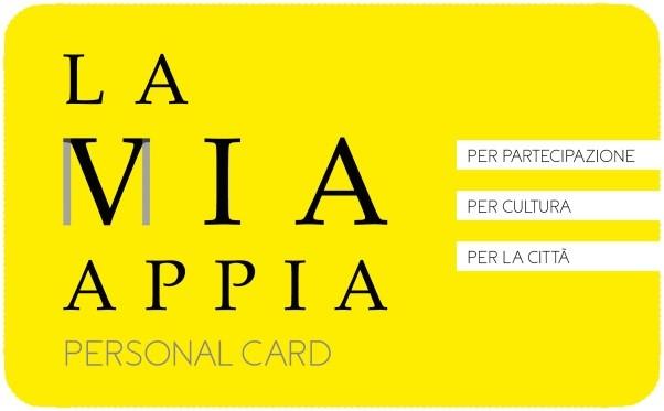 La Mia Appia Card: un unico biglietto per tutto l'anno