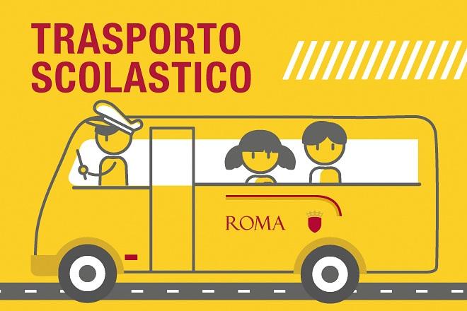 Aperte le iscrizioni al servizio di trasporto scolastico di Roma Capitale