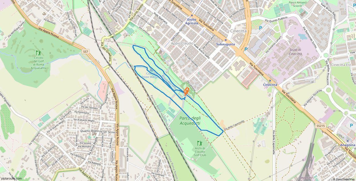 Acquedotti maratona